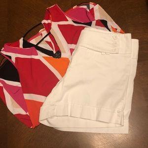 Pants - Cute Shorts & Blouse set.